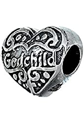 Zable Sterling Silver God Child Bead