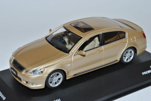Lexus GS450H Beige 2005-2012 1/43 J-Collection Modell Auto