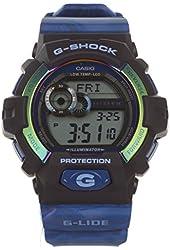 G-Shock GLS-8900AR-2 G-lide Series Luxury Watch - Blue / One Size
