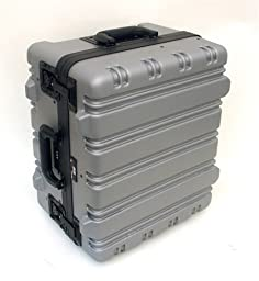 Wheeled Carrying Case, Super Size, Gray