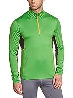 CMP Campagnolo Camiseta Manga Larga 3L08947 (Verde / Amarillo)