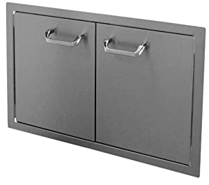 HBI 30DD-STD Hasty-Bake Stainless Steel Standard Double Access Doors, 30-Inch by Hasty-Bake Inc.