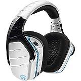 Logitech G933 Artemis Spectrum Snow Wireless 7.1 Gaming Headset, White (Renewed) (Color: White)