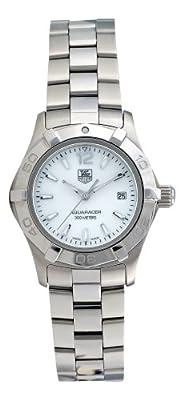 "TAG Heuer Women's WAF1414.BA0823 ""Aquaracer"" Stainless Steel Dress Watch"
