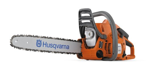 Husqvarna 240E 16-Inch 38.2cc X-Torq 2-Cycle Gas Powered Chain Saw With Smart Start
