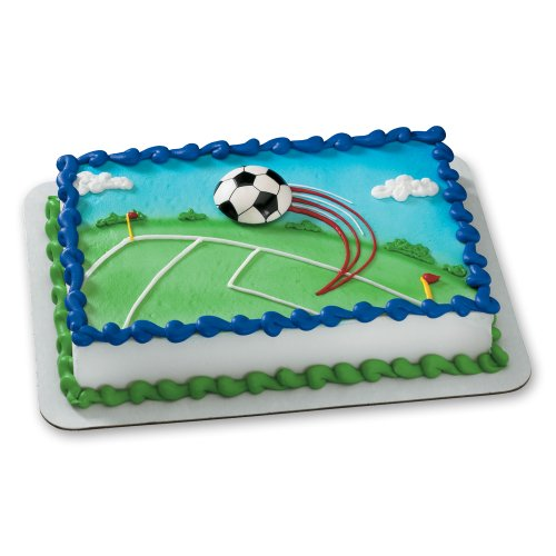 Decopac Extreme Soccer Magnet DecoSet Cake Topper