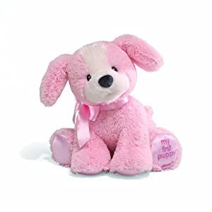 Gund Baby 20cm Soft Plush My First Puppy (Pink) 319782