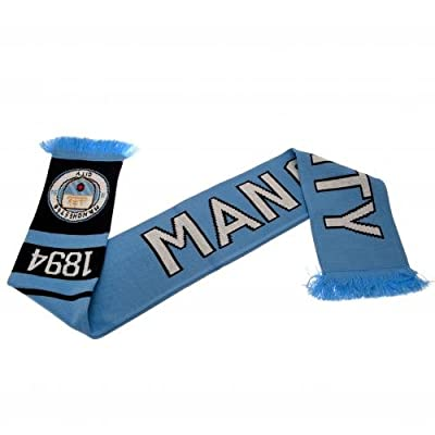 Manchester City FC Authentic EPL Knit Scarf 1894