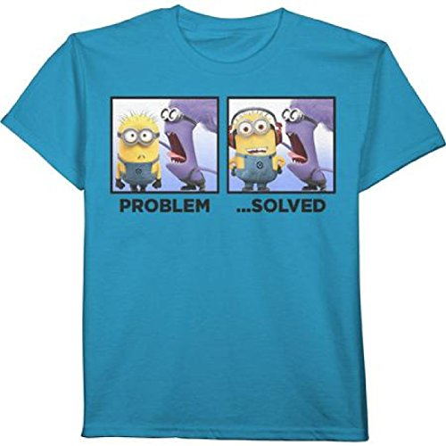 Despicable Me 2 Minion PROBLEM... SOLVED Little & Big Boys' Tee T-Shirt