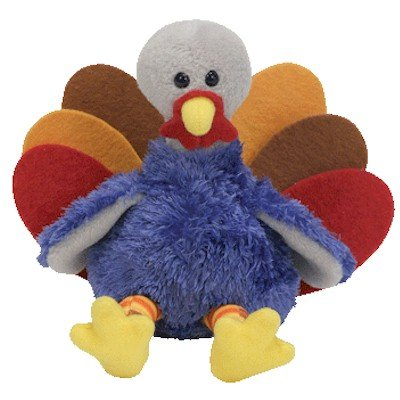 Ty Beanie Babies Stuffed - Turkey (BBOM November 2006)