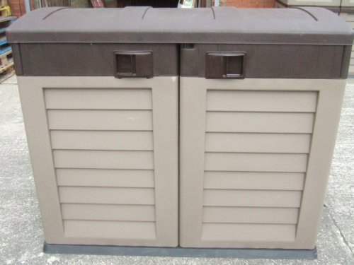 Garden Storage Shed - Half Size, perfect for wheelie bins