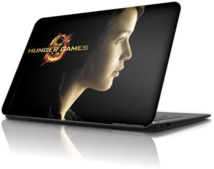 Skinit The Hunger Games -Katniss Everdeen Vinyl Laptop Skin for Dell XPS 13 Ultrabook