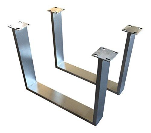 Tischuntergestell-Couchtisch-Edelstahl-Tischgestell-Couchtischgestell-CUG-303