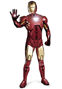 Disguise Mens Iron Man Mark Vi Rental Theatrical Quality Avengers Costume, Large (42-46)