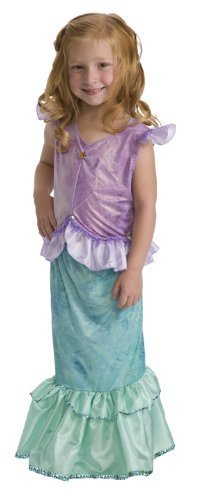 Little Adventures 11242 Mermaid Princess Dress up Costume Age 3-5 with Hairbow