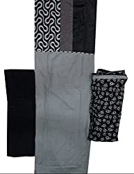 Raj Designer Women's Cotton Unstiched Dress Material (Pack of 2)