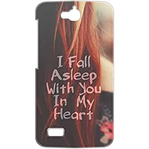 a AND b Designer Printed Mobile Back Cover / Back Case For Huawei Honor Holly (HON_HOL_3D_1585)