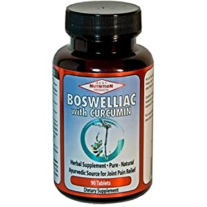 Boswelliac with Curcumin (Ayurvedic Source for Joint Pain Relief)