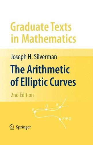 the-arithmetic-of-elliptic-curves