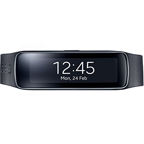 Samsung-Galaxy-Gear-Fit-SM-R350-Smartwatch-Tracker-Retail-Packaging-Charcoal-Black