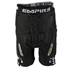 Empire 2013 Grind Paintball Slide Pads & Shorts THT - Black by Empire