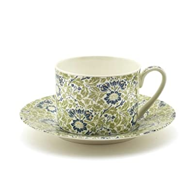 V&A 'Flowering Scroll' Cup and Saucer||EVAEX