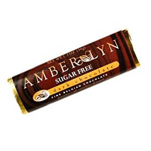 Amber Lyn Chocolates - Sugar Free - Dark Chocolate - 15 Bars