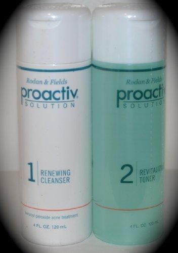 Proactiv Full Size 4 oz Cleanser & Toner Combo