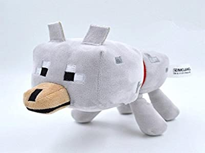 Minecraft Wolf Plush 23 Cm Terraria Stuffed Animal from Anime Museum