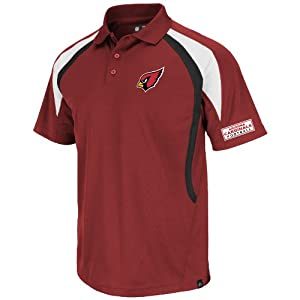 Arizona CardinalsMajestic Mens Field Classic VI Polo by VF
