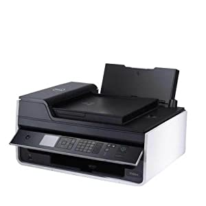 Dell V525W Wireless All In One Inkjet Color Photo Printer with Scanner, Copier & Fax