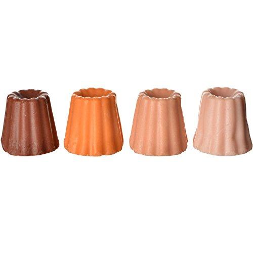 Savons Cannelés Coffret de 4 Parfums Parfums chocolat orange cannelle et amande La petite épicerie de Paris 35-2S-811