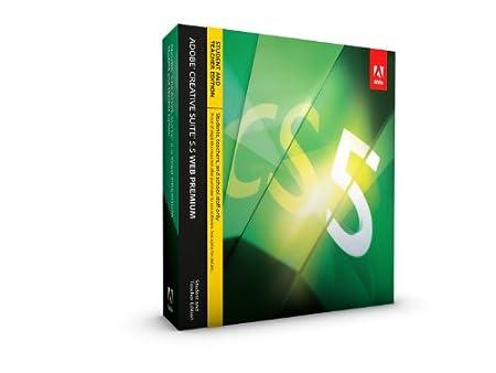 Adobe CS5.5 Web Premium - Version étudiante et enseignante [PC]