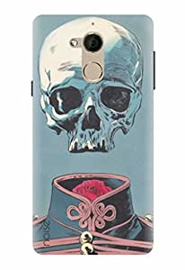 Noise Designer Printed Case / Cover for Coolpad Note 5 / Patterns & Ethnic / Skull Design