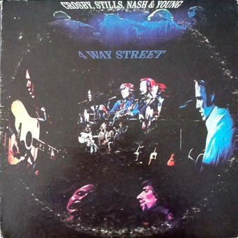 Crosby, Stills & Nash - Crosby, Stills, Nash & Young - 4 Way Street: Recorded Live At Filmore East New York, June 2nd, June 7th, 1979 (2x Lps) - Zortam Music