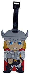 Childrens Super Hero Luggage School Bag Tag