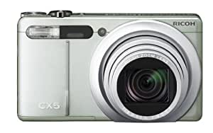Ricoh CX5 10 MP CMOS Digital Camera with 10.7x Optical Zoom (Silver)