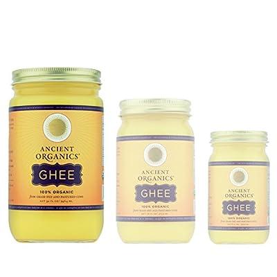 100% Organic Ghee from Grass-fed Cows, 32oz