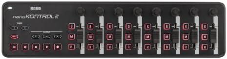 KORG USB MIDIコントローラー NANO KONTROL2 ナノコントロール2 ブラック