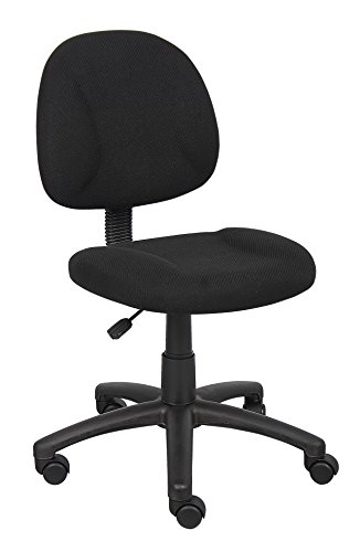 Boss Black Deluxe Posture Chair