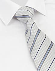 Collezione Pure Silk Striped & Textured Tie