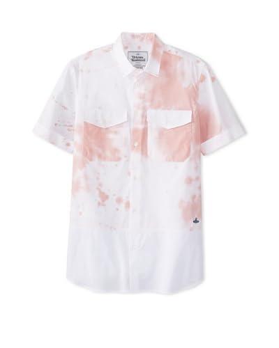 Vivienne Westwood Men's Splatter Print Shirt