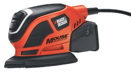 Black & Decker MS800B Mouse Detail Sander With Dust Collection photo
