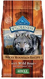 Blue Wilderness Rocky Mountain Wild Boar Recipe for Adult Dogs , 4lb