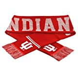 NCAA Glitter Scarf NCAA Team: Indiana University Hoosiers at Amazon.com