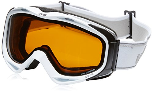 UVEX, Maschera da sci G.Gl 300 Pola, Bianco (Offwhite), Taglia unica