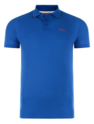 Lee Cooper -  Polo  - Uomo Blu  Small