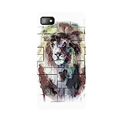 Skintice Designer Back Cover with designer 3D sublimation printing for Blackberry Z10