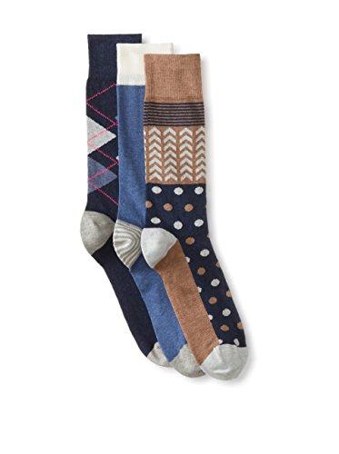 Sockwear Men's Mixed Pattern Socks - 3 Pack