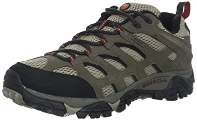 Buy Merrell Mens Moab Waterproof Hiking Shoe by Merrell